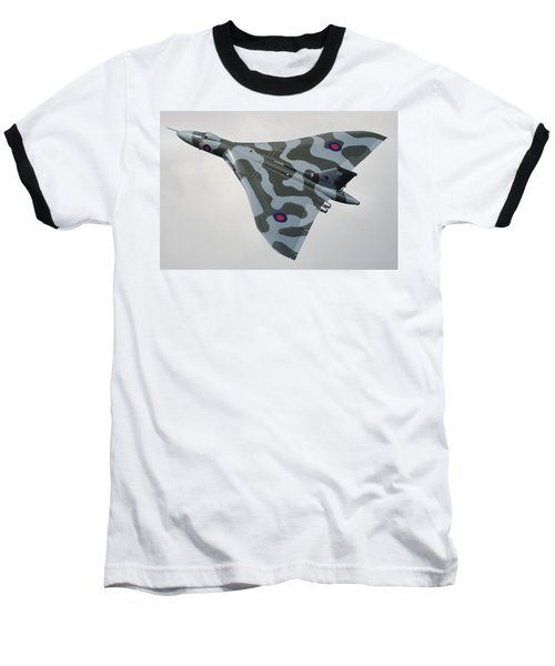Avro Vulcan B2 Baseball T-Shirt by Tim Beach