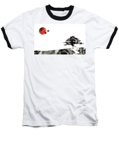 Awakening - Zen Landscape Art Baseball T-Shirt