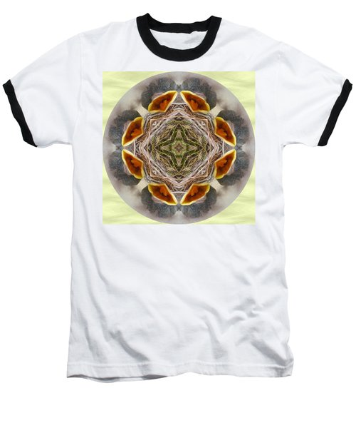 Baby Bird Kaleidoscope Baseball T-Shirt