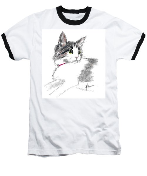 Baby Kitten Baseball T-Shirt