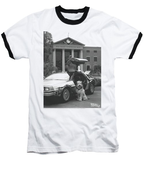 Back To The Future II - Einstein Baseball T-Shirt