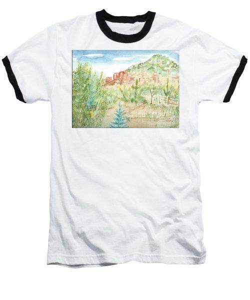 Backyard Sedona Baseball T-Shirt