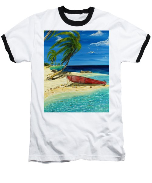 Bahama Beach Baseball T-Shirt