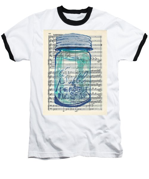 Baseball T-Shirt featuring the painting Ball Jar Classical  #132 by Ecinja Art Works