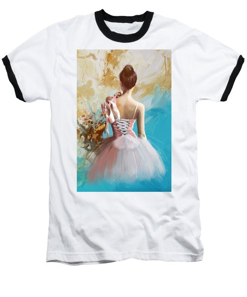 Ballerina's Back  Baseball T-Shirt