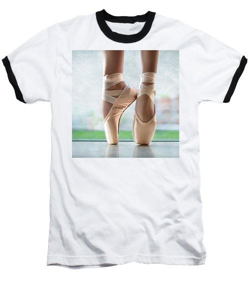 Ballet En Pointe Baseball T-Shirt