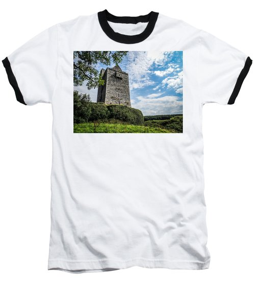 Ballinalacken Castle In Ireland's County Clare Baseball T-Shirt