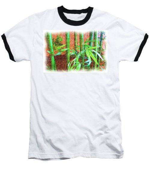 Baseball T-Shirt featuring the photograph Bamboo #1 by Luther Fine Art