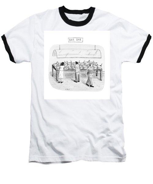 Bar Bar Baseball T-Shirt