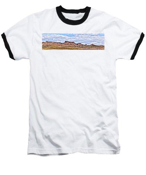 Bardenas Desert Panorama 1 Baseball T-Shirt
