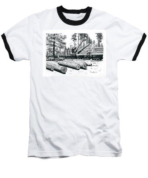 Barnhart Log Loader Baseball T-Shirt