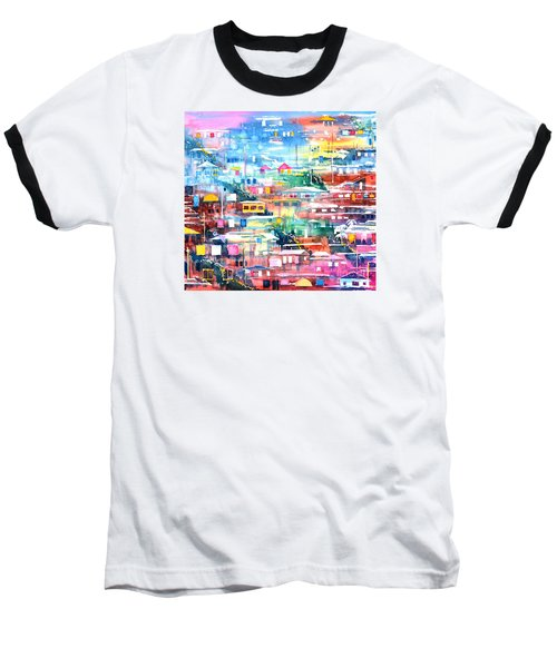 Barrio El Cerro De Yauco Baseball T-Shirt