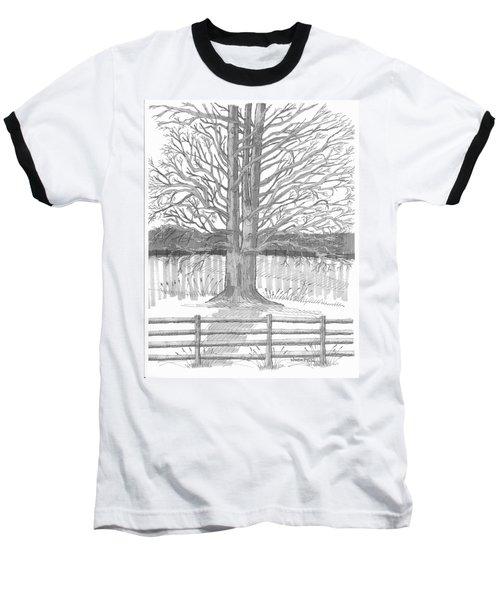 Barrytown Tree Baseball T-Shirt