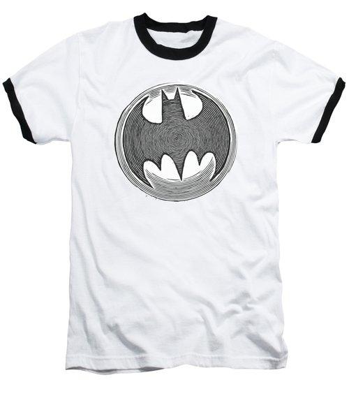 Batman - Knight Knockout Baseball T-Shirt