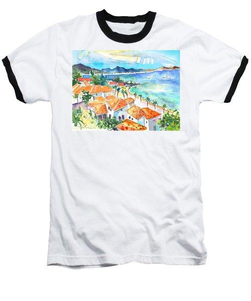 Bay Of Saint Martin Baseball T-Shirt