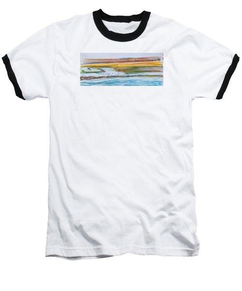Beach And Sea Baseball T-Shirt