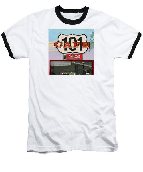 Beach Cafe Baseball T-Shirt