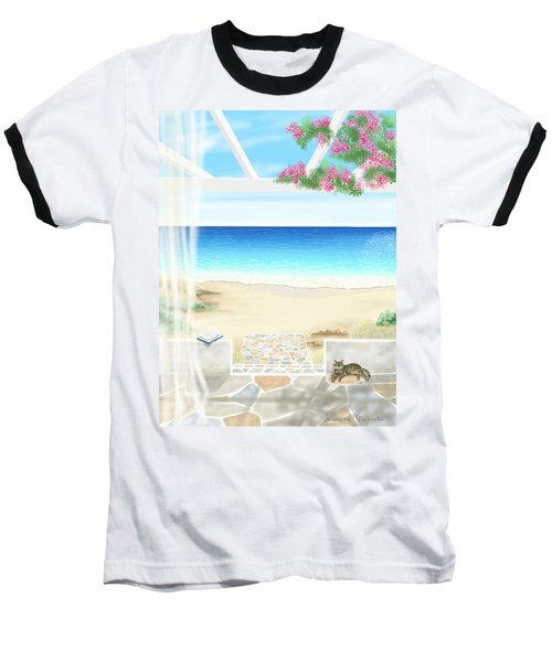 Beach House Baseball T-Shirt