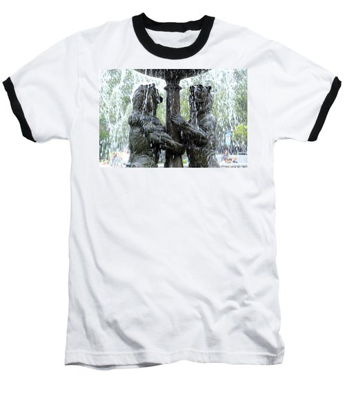 Bear Fountain Baseball T-Shirt