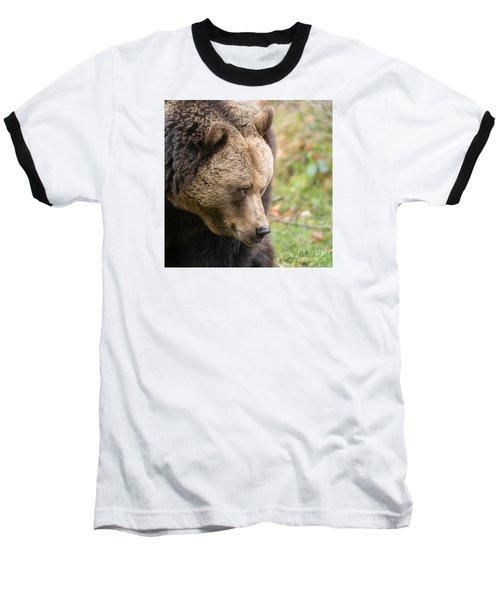 Baseball T-Shirt featuring the photograph Bear's Profile by Simona Ghidini