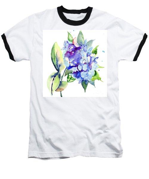 Beautiful Blue Flowers Baseball T-Shirt