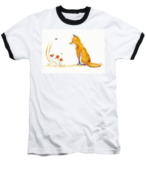 Bee A Summer Fox Baseball T-Shirt