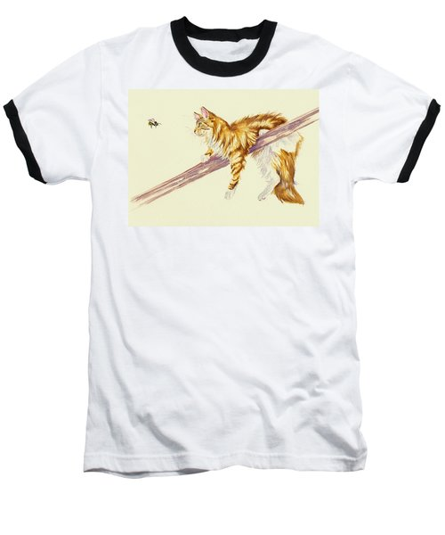 Bee Determined Baseball T-Shirt
