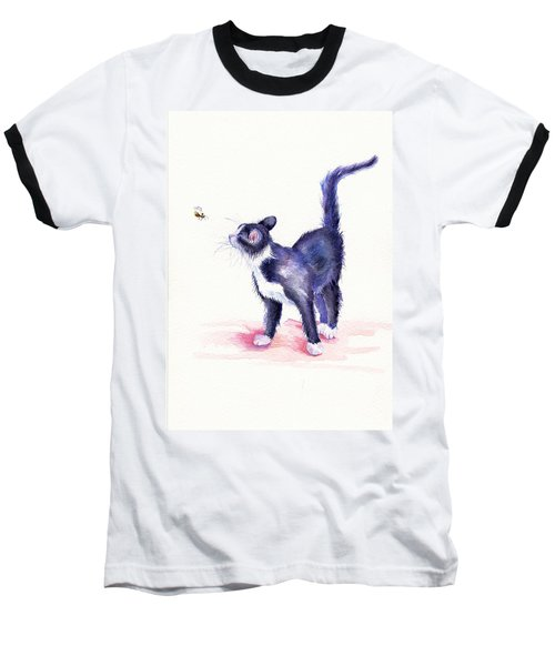 Bee Hypnotised Baseball T-Shirt