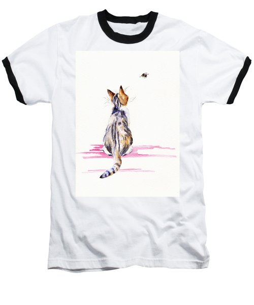 Bee-mused Baseball T-Shirt