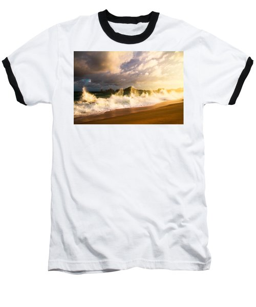 Baseball T-Shirt featuring the photograph Before The Storm by Eti Reid