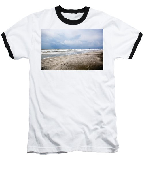Baseball T-Shirt featuring the photograph Before The Storm by Sennie Pierson
