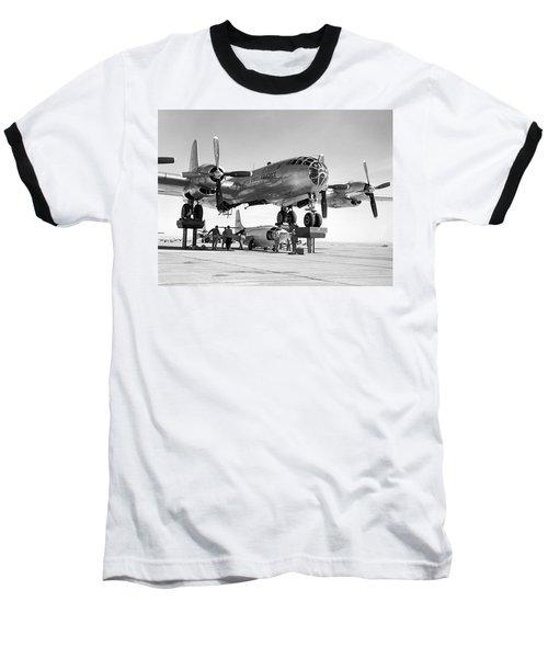 Bell X-1-3 And B-50 Mothership Baseball T-Shirt