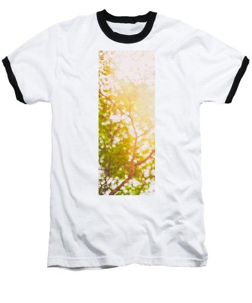 Beneath A Tree  14 5199   Diptych  Set 1 Of 2 Baseball T-Shirt