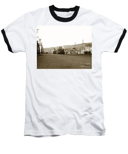 Berkeley California Train Station Circa 1902 Baseball T-Shirt