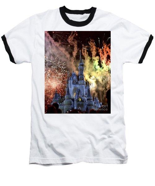 Christmas Wishes Baseball T-Shirt