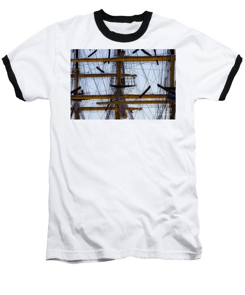 Between Masts And Ropes Baseball T-Shirt