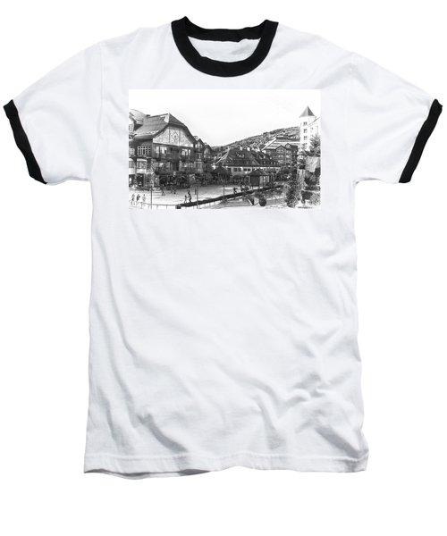 Bever Creek Skating Rink Baseball T-Shirt