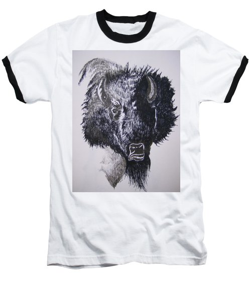 Big Bad Buffalo Baseball T-Shirt