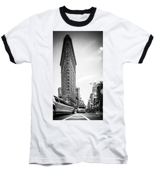 Big In The Big Apple - Bw Baseball T-Shirt