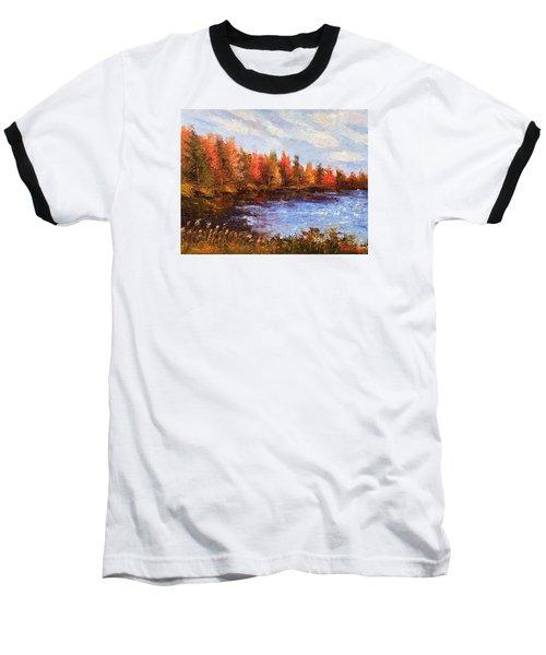 Birchwood Lake Baseball T-Shirt by Jason Williamson