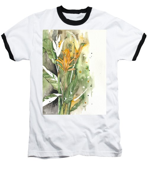 Bird Of Paradise 08 Elena Yakubovich  Baseball T-Shirt