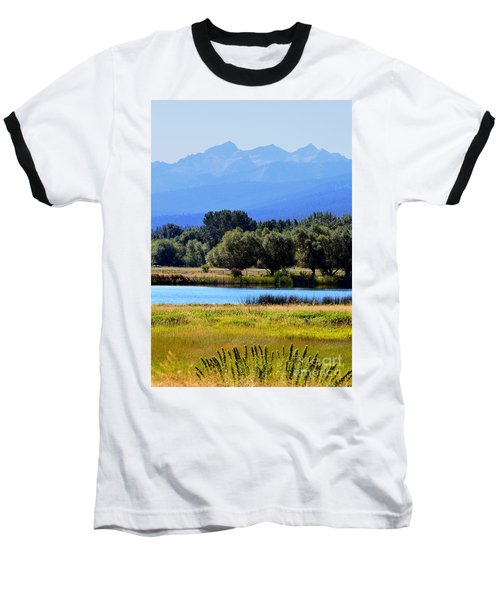 Baseball T-Shirt featuring the photograph Bitterroot Valley Montana by Joseph J Stevens