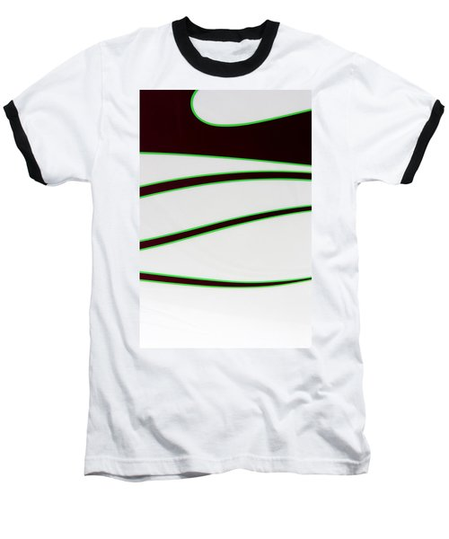 Baseball T-Shirt featuring the photograph Black And Green by Joe Kozlowski
