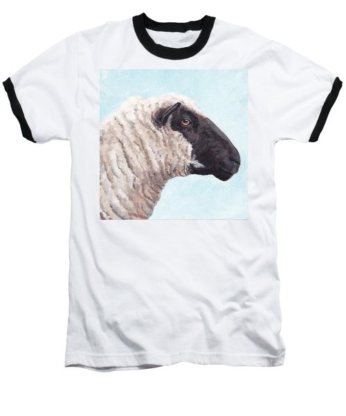 Black Face Sheep Baseball T-Shirt