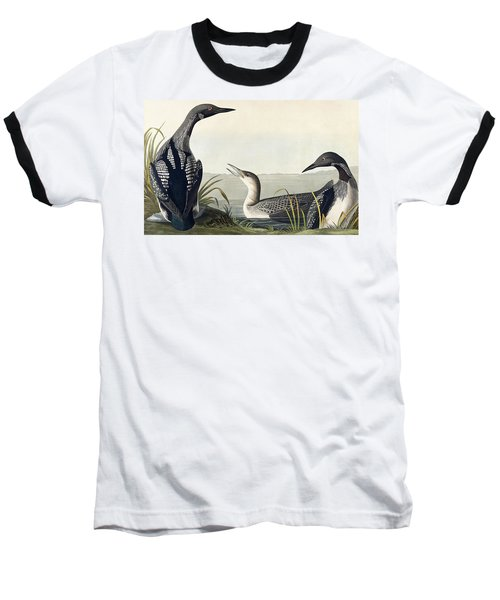 Black Throated Diver  Baseball T-Shirt