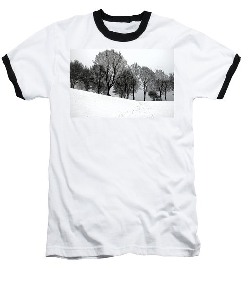 Baseball T-Shirt featuring the photograph Black Trees by Randi Grace Nilsberg
