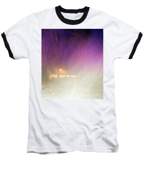 Blizzard Baseball T-Shirt by Pamela Hyde Wilson