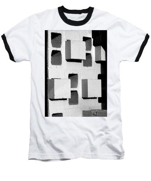 Baseball T-Shirt featuring the photograph Blocks by Jeff Brunton