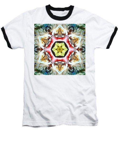 Blooming Fibonacci Baseball T-Shirt