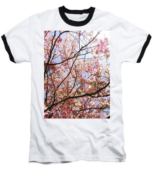 Blossoming Pink Baseball T-Shirt